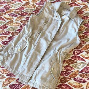 H&M Khaki Vest Size 4